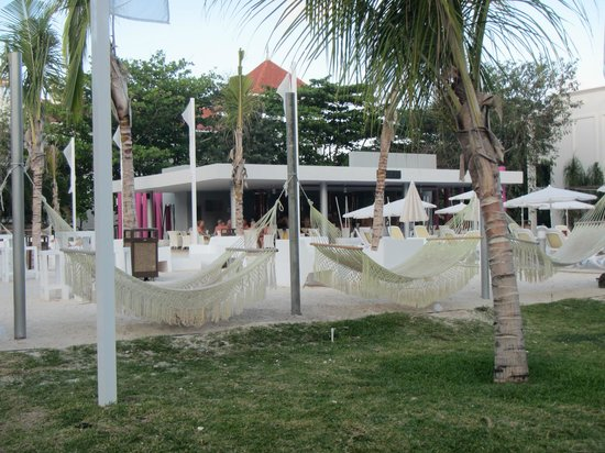 Hotel Riu Yucatan : HAMACS