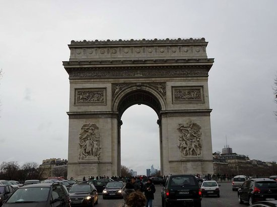 Arc de Triomphe : Arco do Triunfo