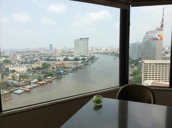 Shangri-La Hotel,Bangkok : Horizon Club Lounge - Aussicht