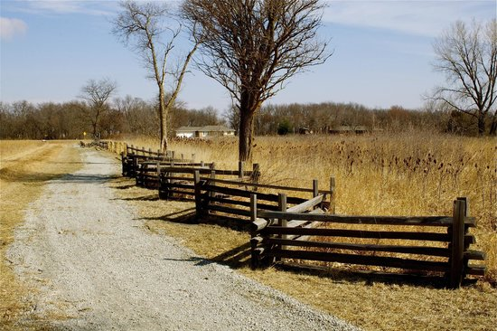 Homestead National Monument of America: The monument has the same size lot as a homesteader's lot.  It is a lovely walk around the acrea