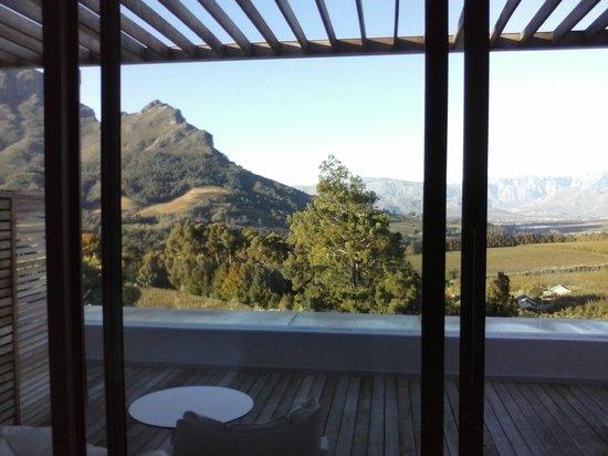 Clouds Wine & Guest Estate: Uitzicht vanuit de kamer