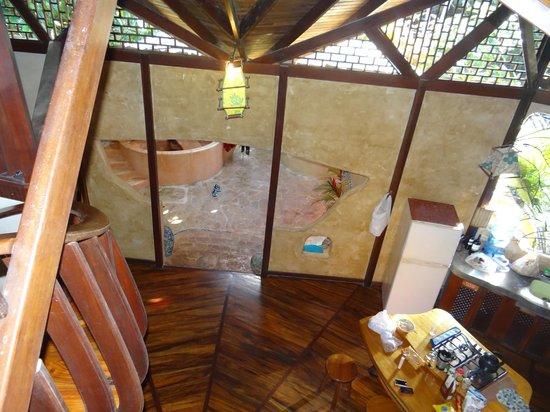 Tree House Lodge: vista del mi cuarto