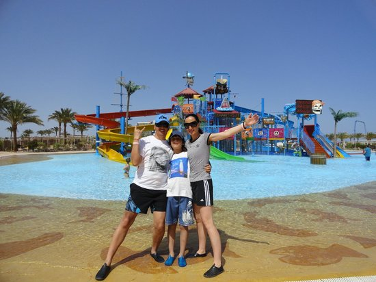 Makadi Water World - a perfect