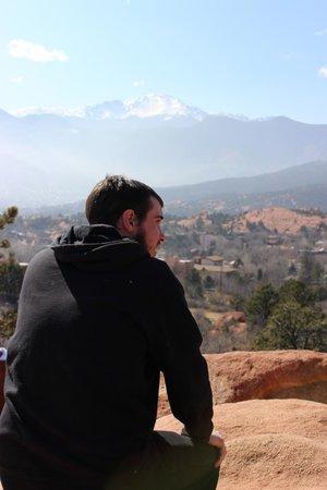 Jardín de los dioses (Garden of the Gods): We decided to do some climbing