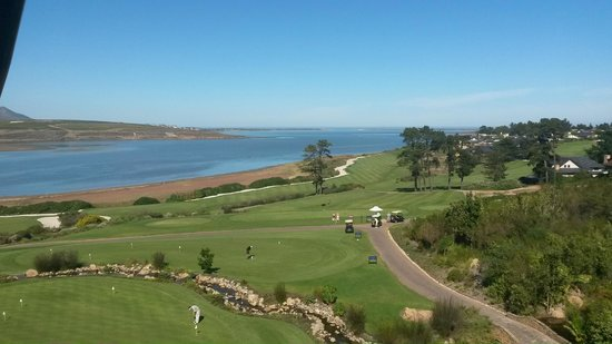 Arabella Hotel & Spa: Golf Course and the Ocean