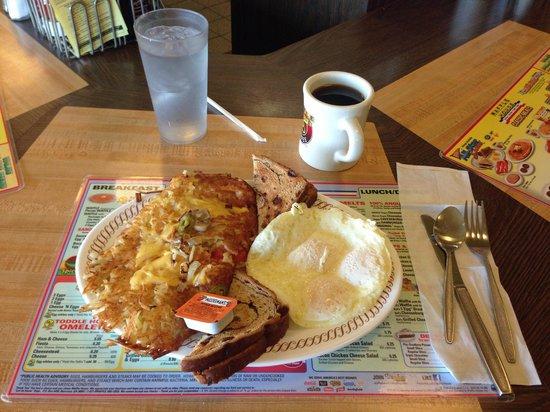Waffle House: dinner