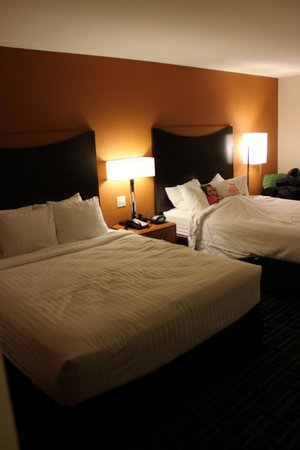 Fairfield Inn & Suites Colorado Springs North/Air Force Academy : We loved our room!