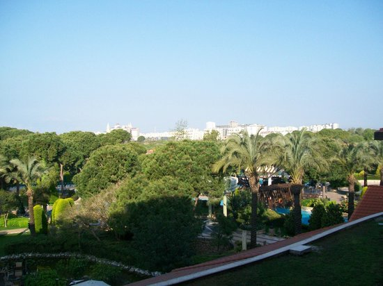 IC Hotels Green Palace : View looking towards the rest of Lara Beach