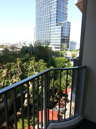 Hyatt Regency Century Plaza : View from one of the Century Suites