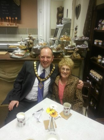 The Old Coffee Pot: Chis councilour and my MUM