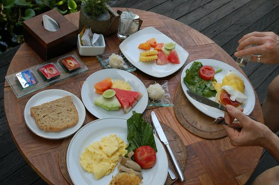 Sri Ratih Cottages : Breakfast