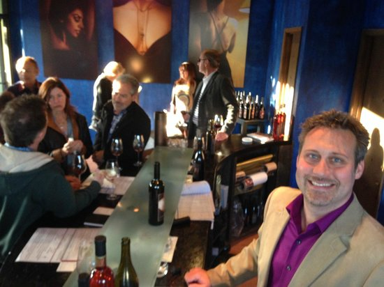 LXV Wine: LXV Patio grand opening