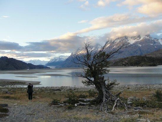 Lago Grey Hosteria and Navegacion: Vista do hotel