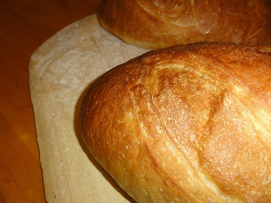 Lombardi's: Occasionally, we'll make larger loaves for Crouton Ptoduction, or retail sales