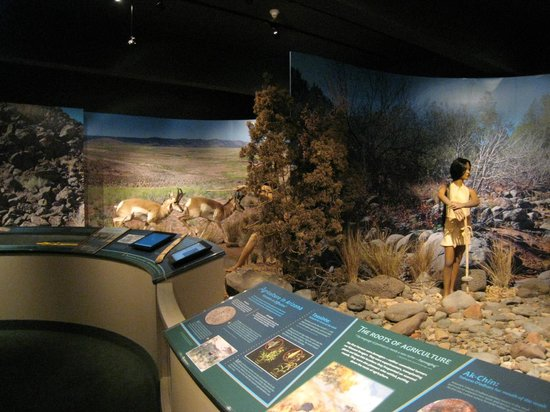 Sharlot Hall Museum : early people's exhibits