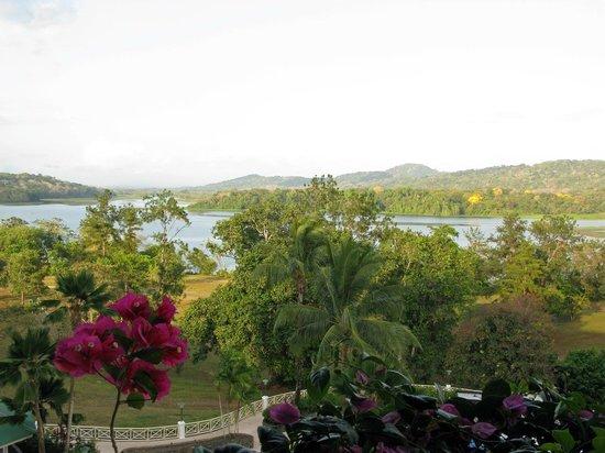 Gamboa Rainforest Resort : Blick vom Zimmer über den Chagres Fluss