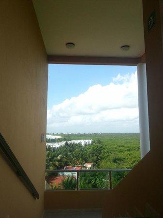 El Dorado Sensimar Riviera Maya: Aussicht seitlich