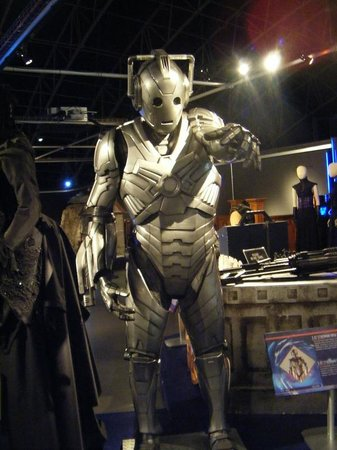 Doctor Who Experience Cardiff Bay: cyber man