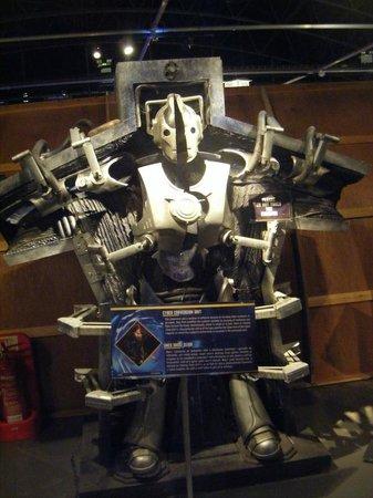 Doctor Who Experience Cardiff Bay: cyberman creator