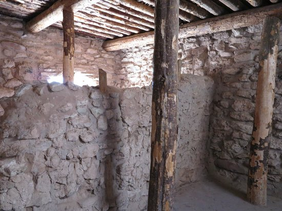 Tuzigoot National Monument : structure inside