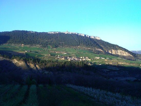 Chateau de Lugagnac : la vallée