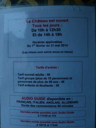 Chateau de Roquebrune-Cap-Martin : Öffnungszeiten & Eintritt vom   Rue du Chateau, Roquebrune