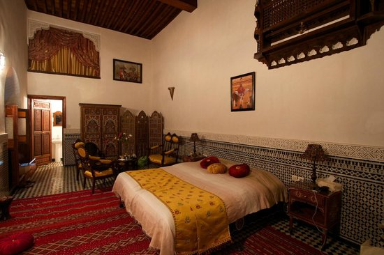 Riad Kettani: Our bedroom