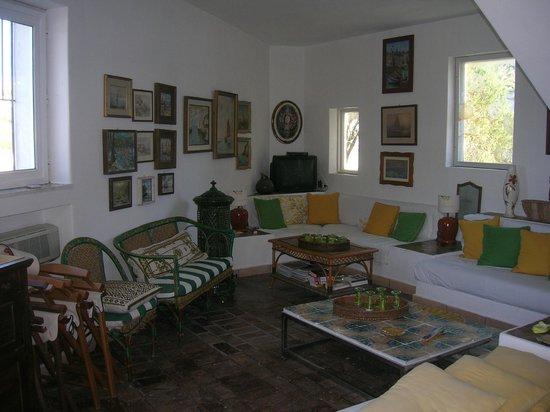 La Limonaia a Mare: Un angolo del soggiorno