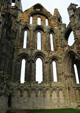 Whitby Abbey: Innteil der Fassade