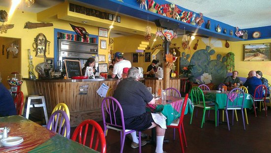 El Ranchero Restaurant: One of two dining areas.