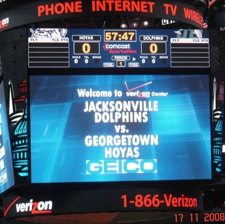 Capital One Arena: Verizon Center - WDC - Georgetown Game