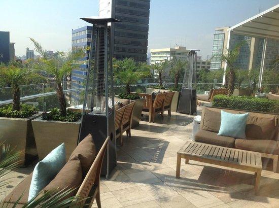 The St. Regis Mexico City: terrace
