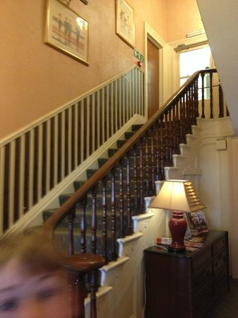 Hotel Richmond: Stairs to rooms