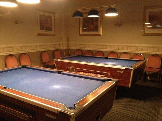Hotel Richmond: Games room