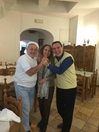 Da Maria Trattoria Pizzeria: grande chef enzo pisacane
