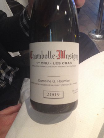 Le Millesime : Very nice wine list to take advantage of!'