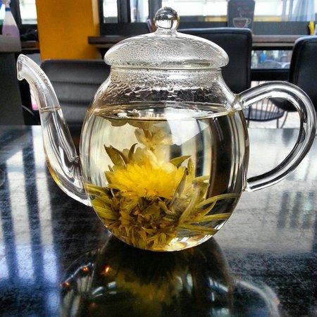 Coffee Time: Flowering tea