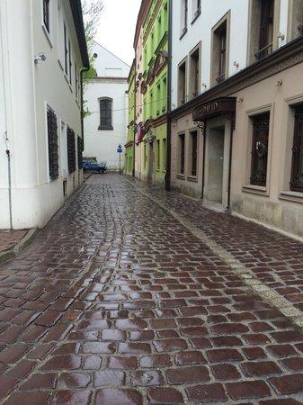 Krakow Free Walking Tour: Scene from Schindler's list the movie