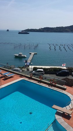 Royal Sporting Hotel: jolie vue depuis notre chambre