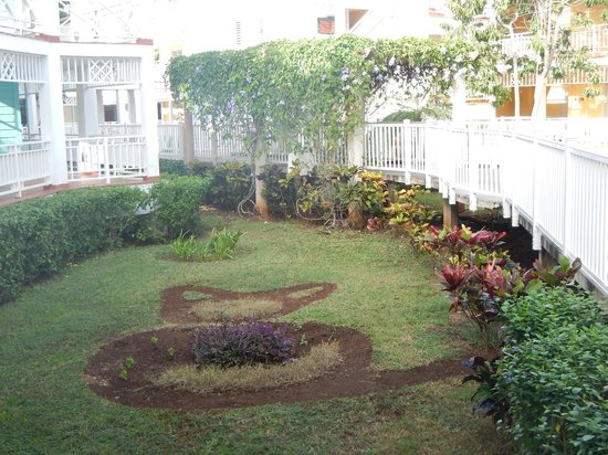 Royalton Hicacos Varadero Resort & Spa: One of the neat little landscaping finds on the resort!
