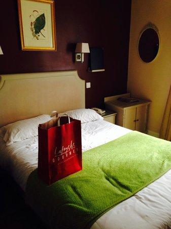 Golden Hotel Paris: Il ns Letto