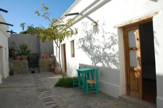 Hosteria Villa Cardon: la cour commune