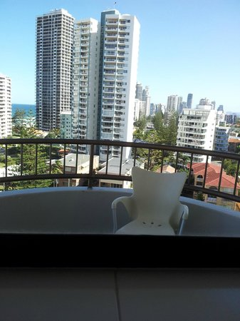 Regent Apartments: Vista da sacada-1