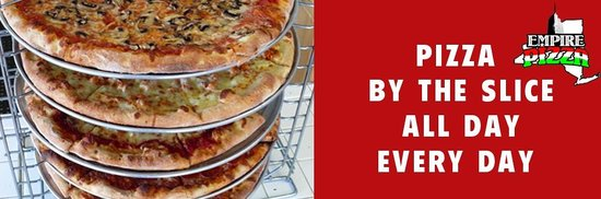 Empire Pizza: Pizza by the slice all day