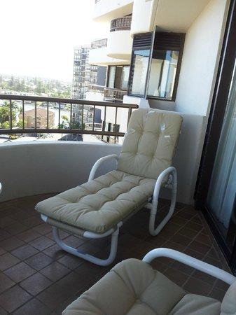 Regent Apartments: Sacada