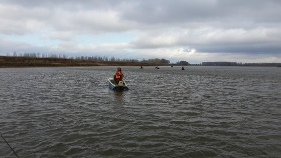 Volgograd Oblast, Ρωσία: Рыбаки на Ахтубе