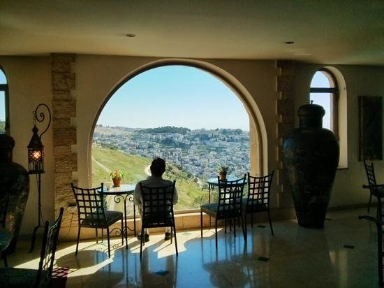 Mount Zion Hotel : lobby