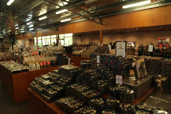 Margaret River Chocolate Company : The chocolate shop