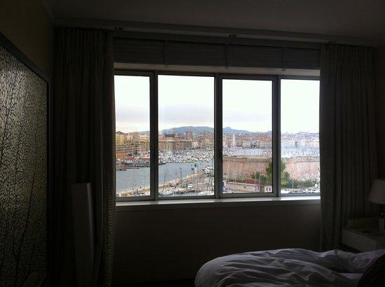 Sofitel Marseille Vieux-Port: Vista desde el cuarto