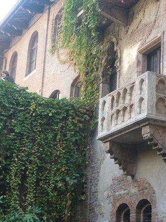Casa di Giulietta: Balcone di Giulietta